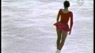 Nagano, JAPAN - 1998 Winter Games, Figure Skating, Ladies' Free Ska...