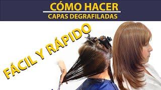 CORTE  DEGRAFILADO/ PARA ROSTRO REDONDO  CUT / FOR EASY ROUND FACE.