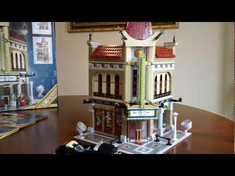 LEGO 10232 Palace Cinema Lego Creator Expert Modular Building Review