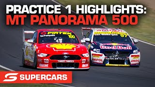 Practice 1 Highlights - Repco Mt Panorama 500   Supercars 2021