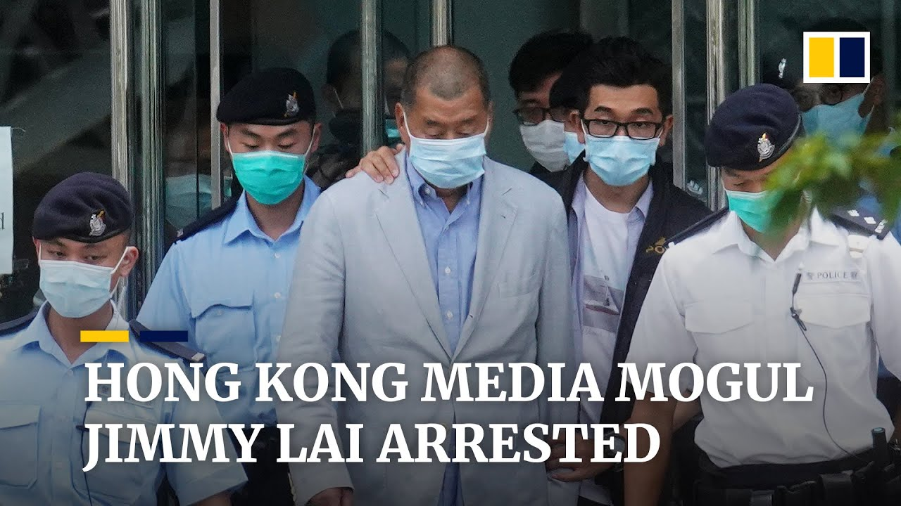 Hong Kong Publisher Jimmy Lai Arrested Under New National ...