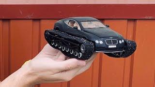Сделал Bentley Ultratank своими руками. из ПЛАСТИЛИНА, Академика