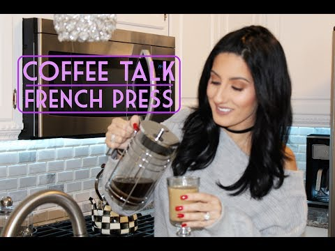 KITCHEN COFFEE TALK / MY NEW FRENCH PRESS