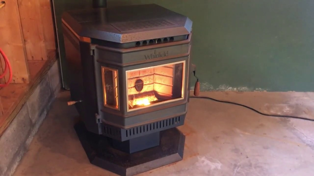 Whitfield Advantage Ii T Pellet Stove Youtube