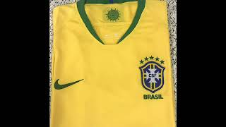 Brazil World Cup Home Jersey 2018 - jerseysoccercheap.com