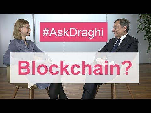 #AskDraghi: How can we harness blockchain technology to support the economy?