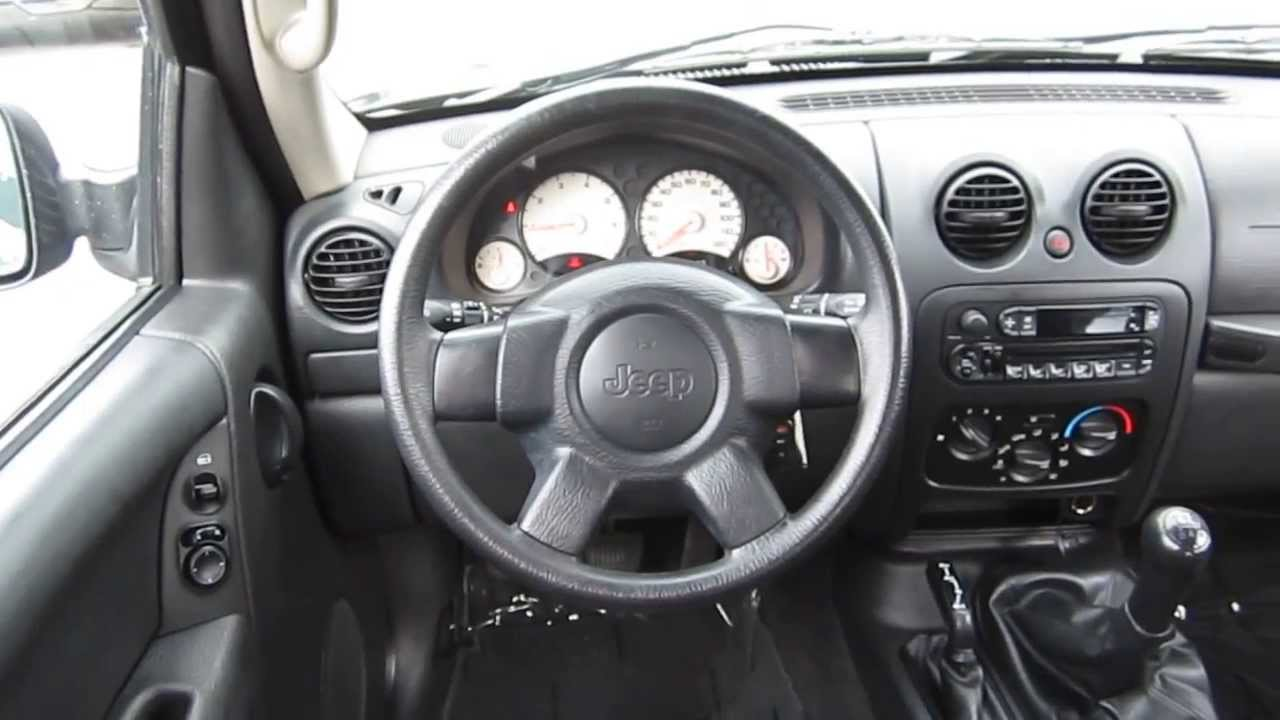 Amazing 2004 Jeep Liberty, Black   STOCK# B2321   Interior Nice Look