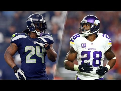 Marshawn Lynch vs Adrian Peterson Ultimate Highlights