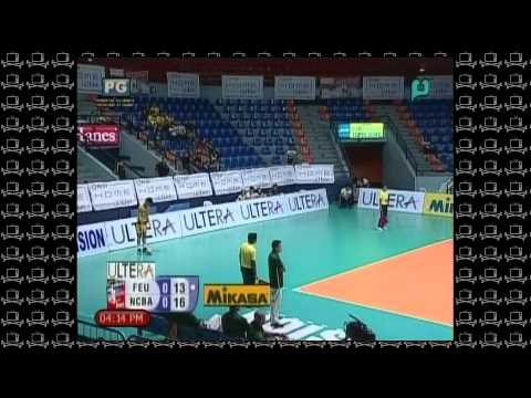 FEU vs NCBA - 1st Set - Spiker's Turf