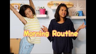 Middle School vs High School Morning Routine!!
