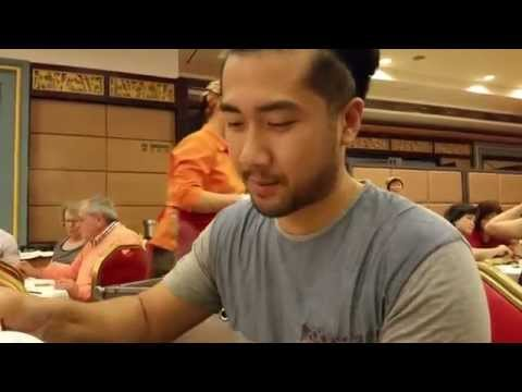 Jing Fong Restaurant Dim Sum NYC Milky Custard Bun Durian Puffs