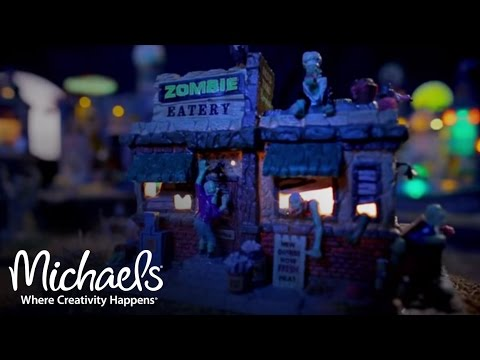 Lemax® Spooky Town | Halloween Decor | Michaels - YouTube
