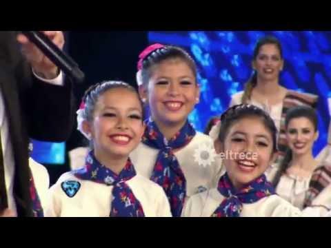 Las campeonas de Puerto Tirol (Chaco) bailaron malambo femenino