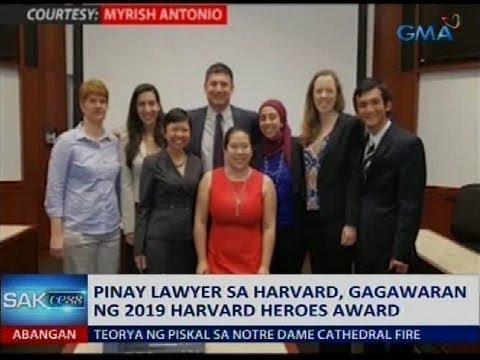 Saksi: Pinay lawyer sa Harvard, gagawaran ng 2019 Harvard Heroes Award