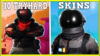 10 MOST TRYHARD SKINS In Fortnite (You Always Lose To These!)