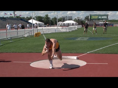 NDSU's Alex Renner Qualifies for NCAA Outdoor Championships in Shot Put