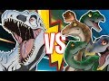 100 HERBIVORES vs 1 INDOMINUS REX!! - JURASSIC WORLD EVOLUTION