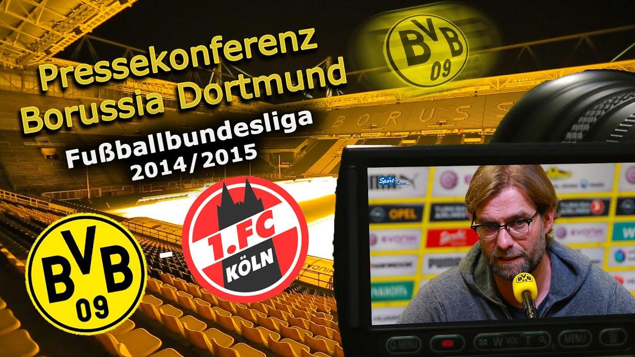 BVB Pressekonferenz zum Bundesligahit : Borussia Dortmund - 1. FC Köln