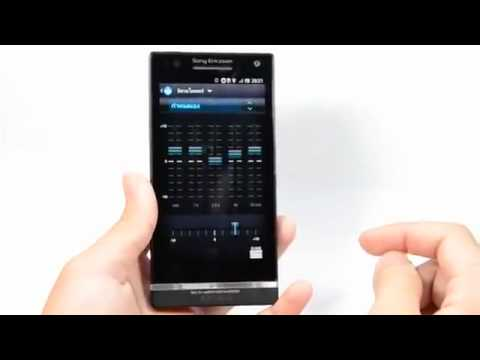 Video điện thoại Xperia S chạy Android 4.0