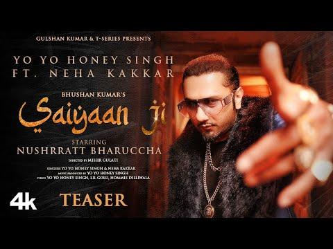 Saiyaan Ji Teaser ► Yo Yo Honey Singh, Neha Kakkar | Nushrratt Bharuccha | Bhushan Kumar |Out 27 Jan