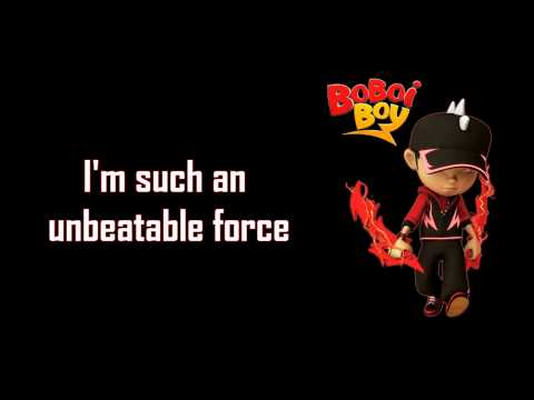 Fanmade Lyrics 「BoBoiBoy Thunderstorm Theme - BoBoiBoy Halilintar Rising -