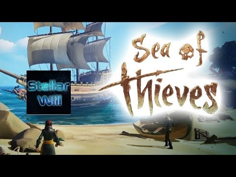 Sea of Thieves (XBOX) // Pirate Life May or May Not Be For ME!! // PUSH to 1.2K SUBS!!
