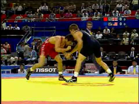 Joe Warren (USA) vs. David Bedinadze (Georgia)