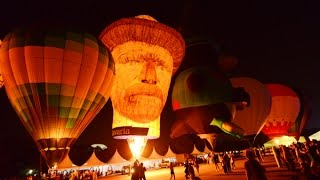7th Putrajaya International Hot Air Balloon Fiesta Night Glow - 4