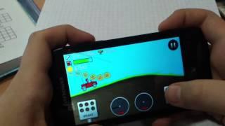 Обзор игры на телефон Hill climb recing
