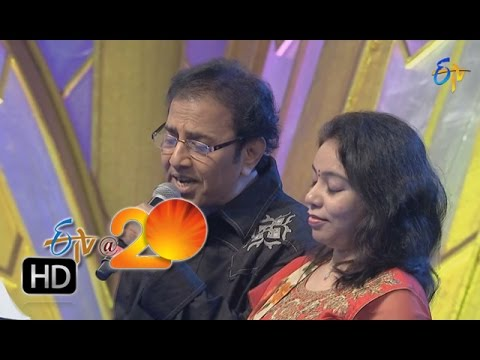 Vandemataram Srinivas,Srilekha Performance Andala Poolaremma Song in Tirupathi ETV @ 20 Celebrations