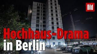 Vater und Baby stürzen aus  Berliner Hochhaus – beide tot