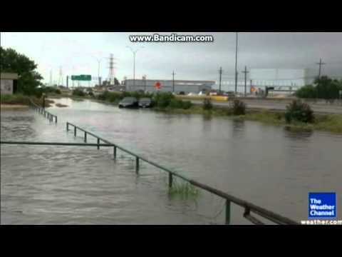 Texas town underwater
