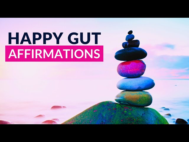 Affirmations For Digestive Health | HEALTHY GUT HEALING AFFIRMATIONS (voice only)