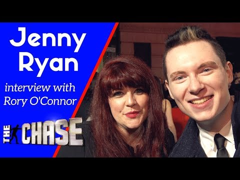 Jenny Ryan interview with Rory O'Connor | The Chase | @jenlion @RoryOConnorTV