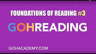 GOHREADING ~ #3 Foundations of Reading 090 MTEL Practice Test ~ GOHACADEMY.COM