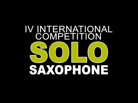 ANDORRA SAXFEST 2017 - 2nd ROUND  SOLO COMPETITION