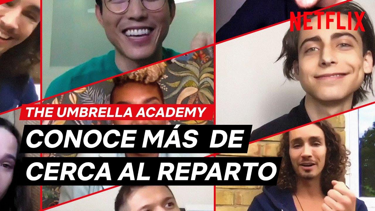 ENCUENTRO con el cast de THE UMBRELLA ACADEMY | Netflix España