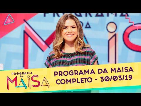 Programa da Maisa | Completo (30/03/19)