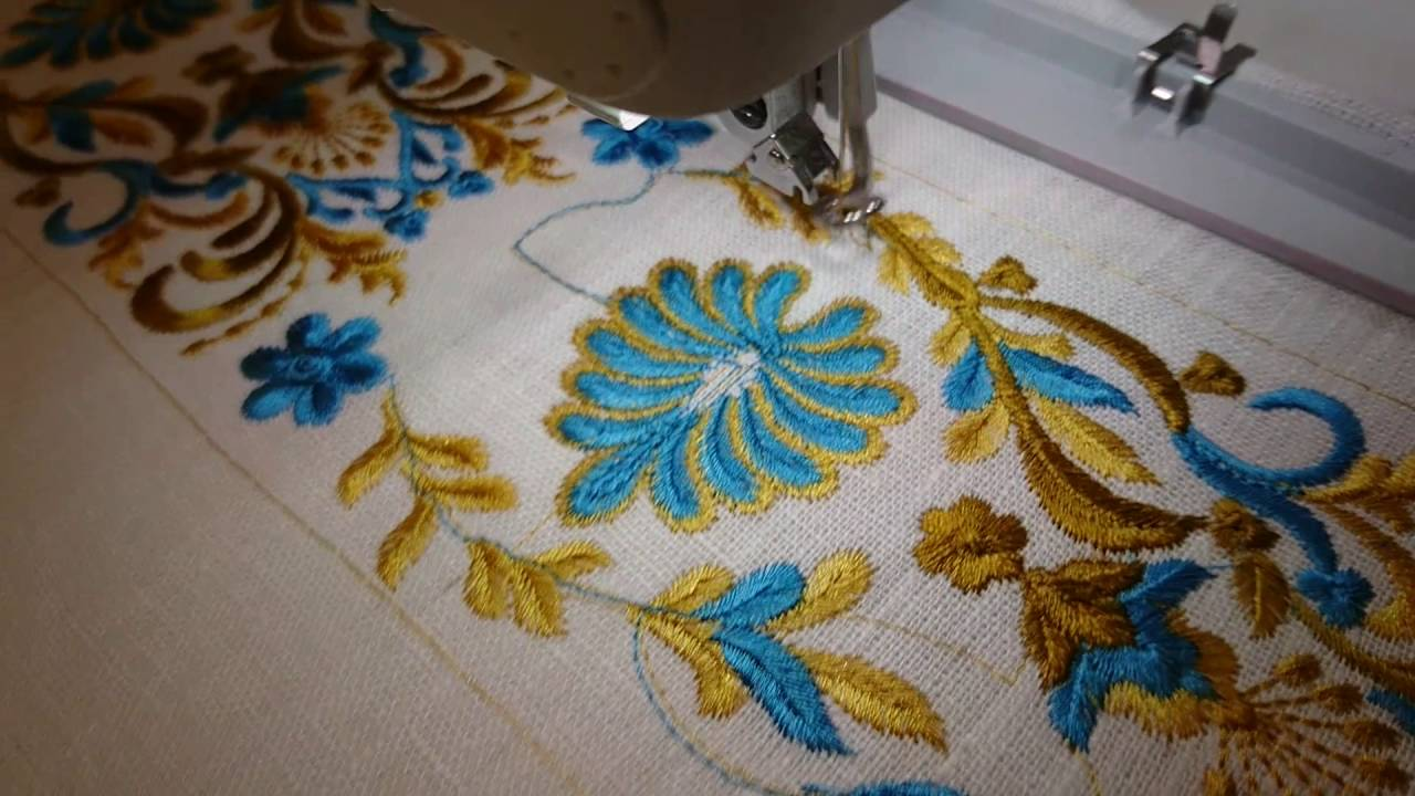 Machine Embroidery Design Indian Border By Royal Present Embroidery
