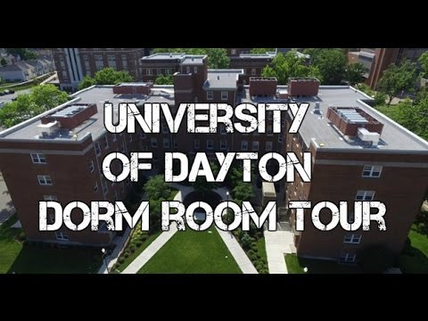 UNIVERSITY OF DAYTON DORM ROOM TOUR! | University Of Dayton Vlog 1 Part 36