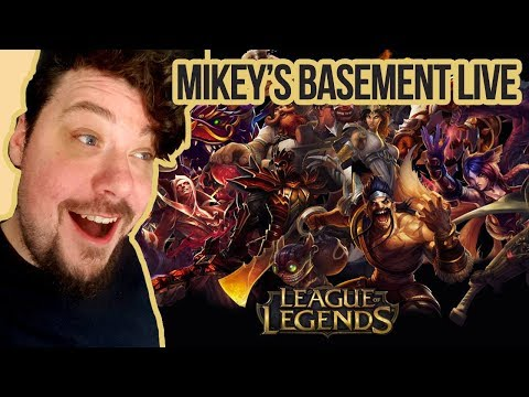 Mikey's Basement LIVE! League of Legends! Learning the ropes. Second time playing. [KPOP]