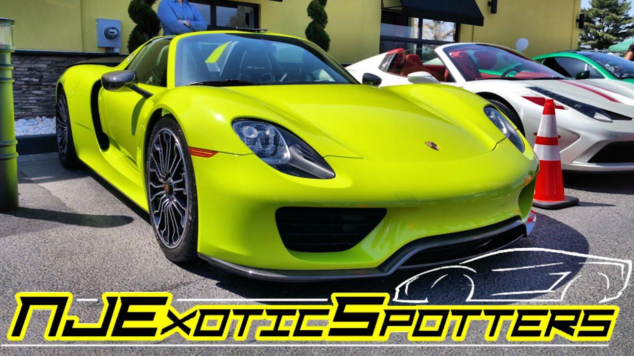 maxresdefault Gorgeous Porsche 918 Spyder Acid Green Cars Trend