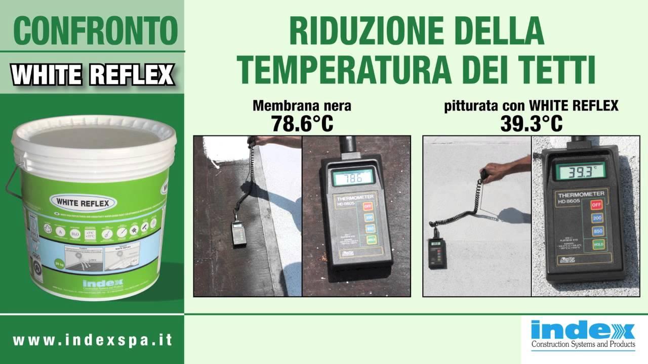 White Reflex Index Spa Pittura Bianca Riflettente Che