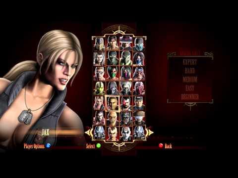 Mortal Kombat Komplete Edition - All Characters [HD]