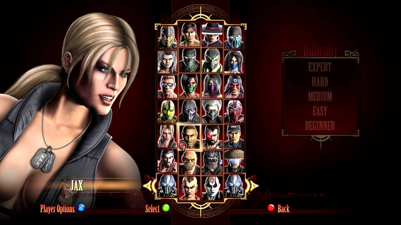 Mortal Kombat Komplete Edition All Characters Hd Youtube