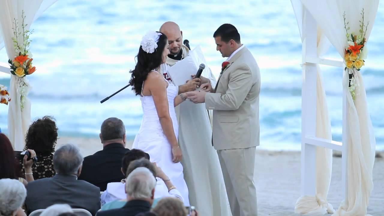 laurie + walter wedding highlight - newport beachside resort