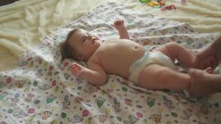 Детский массаж в 4 5 месяцев