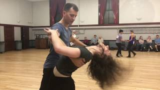 Practice competition, 2018, J&J,  prelim, Maya and Scott