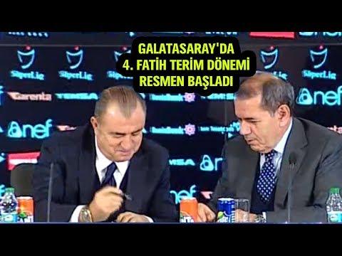 Fatih Terim  Galatasaray'a imza attı! (Basın toplantısı 22 Aralık 2017)