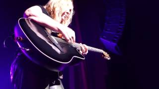 Melissa Etheridge Ovation Jam during Like The Way I Do Hard Rock Orlando 11 25 14